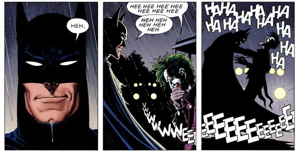 The end of The Killing Joke