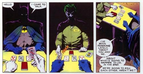 The opening of Batman: The Killing Joke
