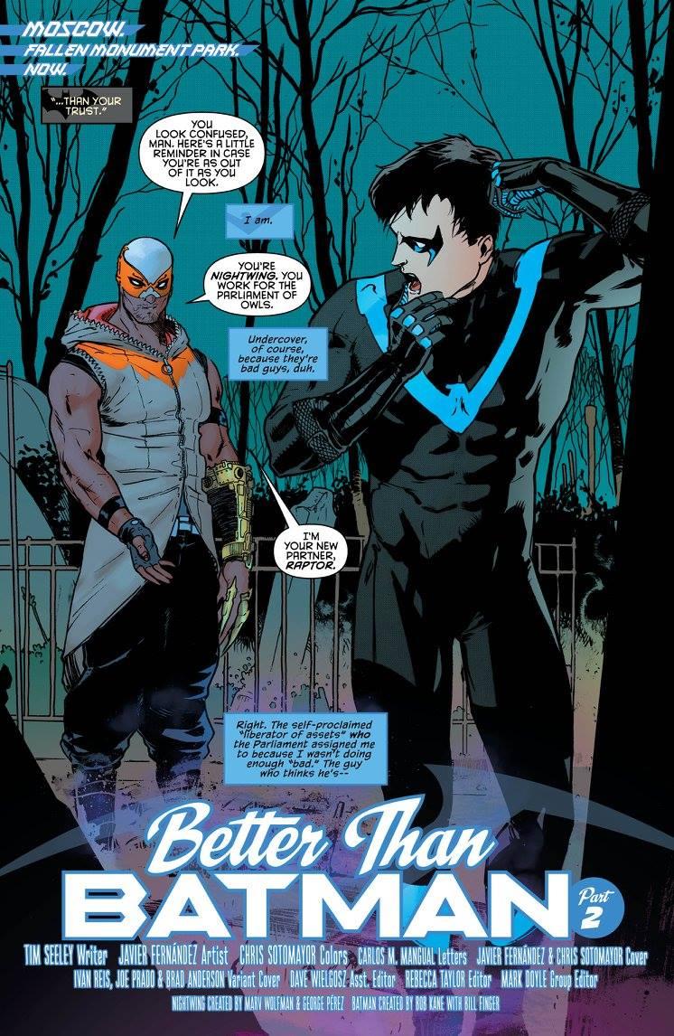 Review: Nightwing #2 Dark Knight News