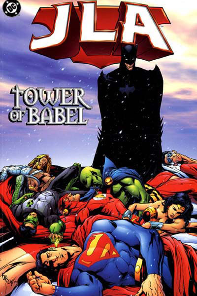 JLA tower of babel cover