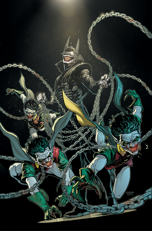 the batman who laughs cover