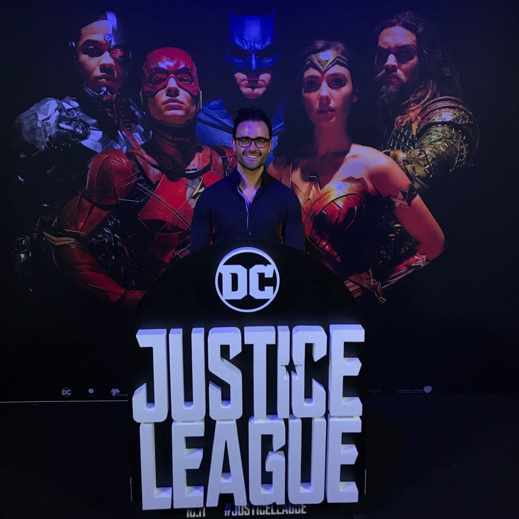 justice league premier dar knight news