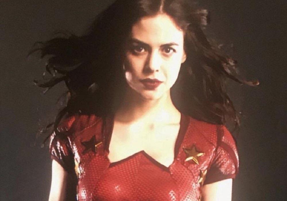 Conor Leslie in costume as Wonder Girl
