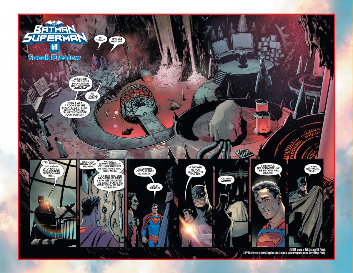 Batman/Superman Preview 1 and 2