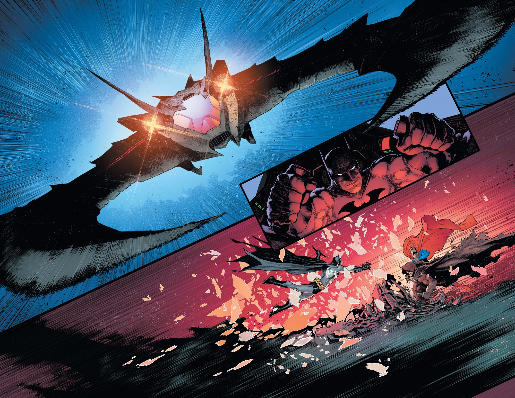 Batman/Superman Preview Pages 3 and 4