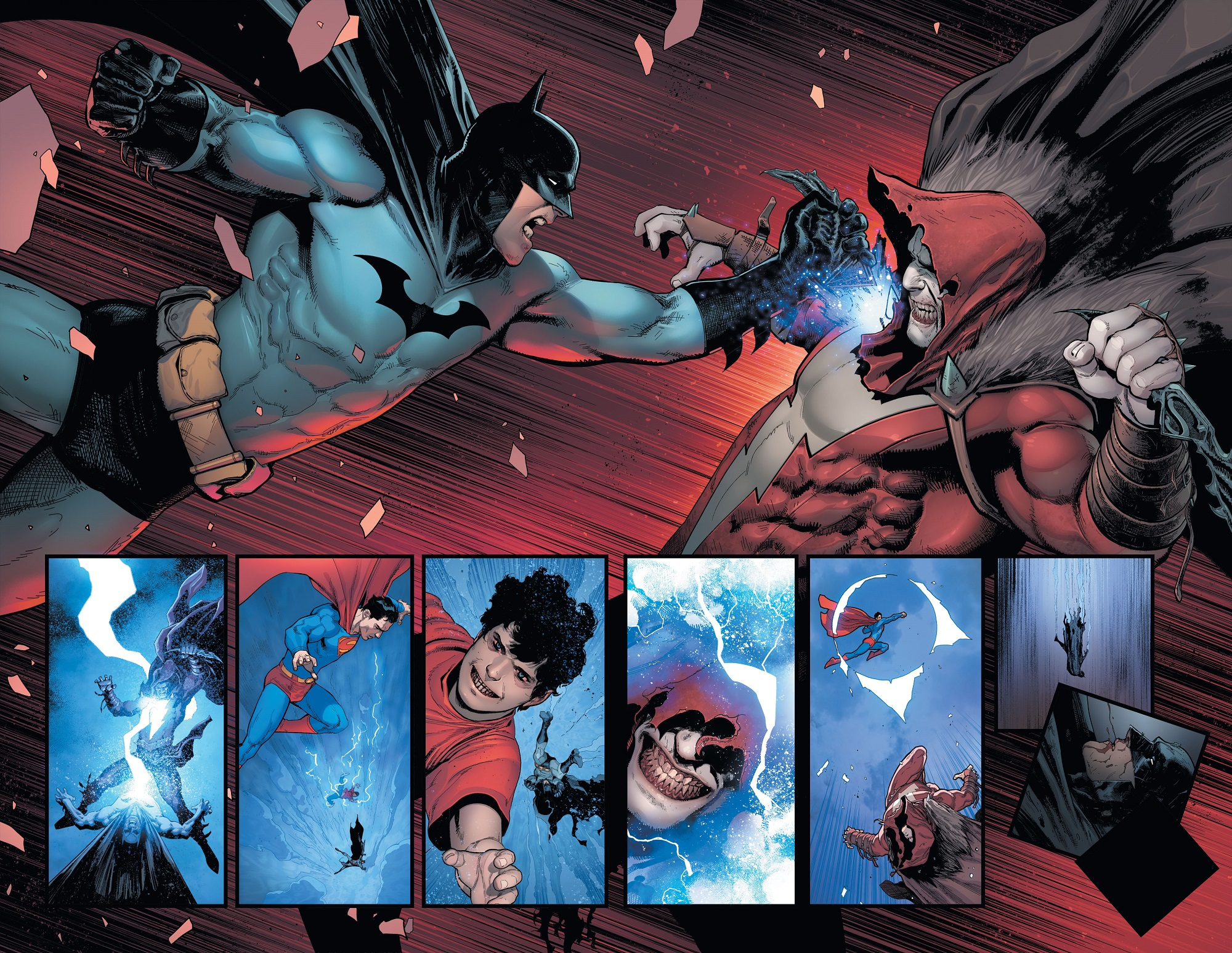 Batman/Superman Preview Pages 5 and 6