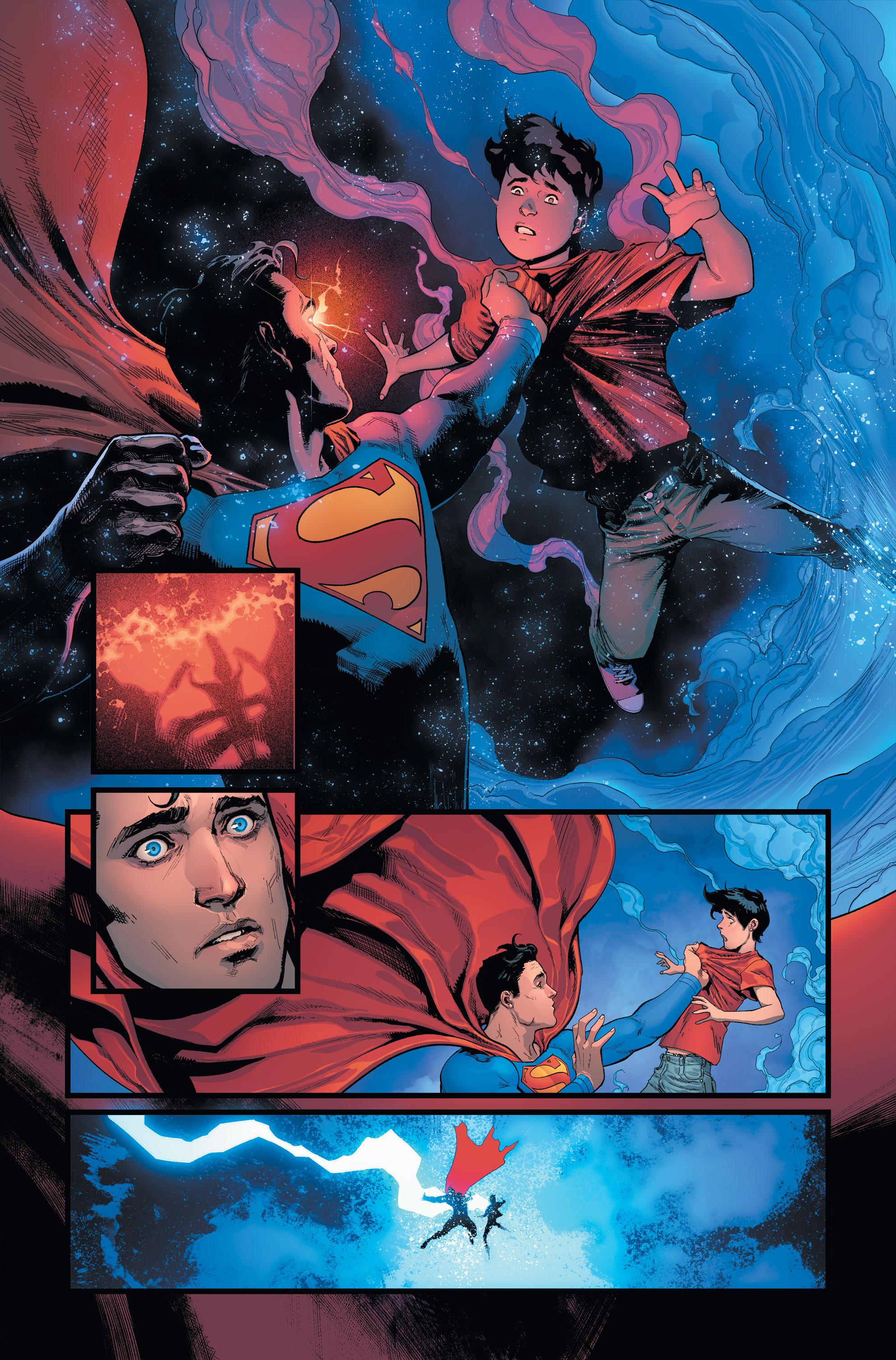 Batman/Superman Preview Page 1