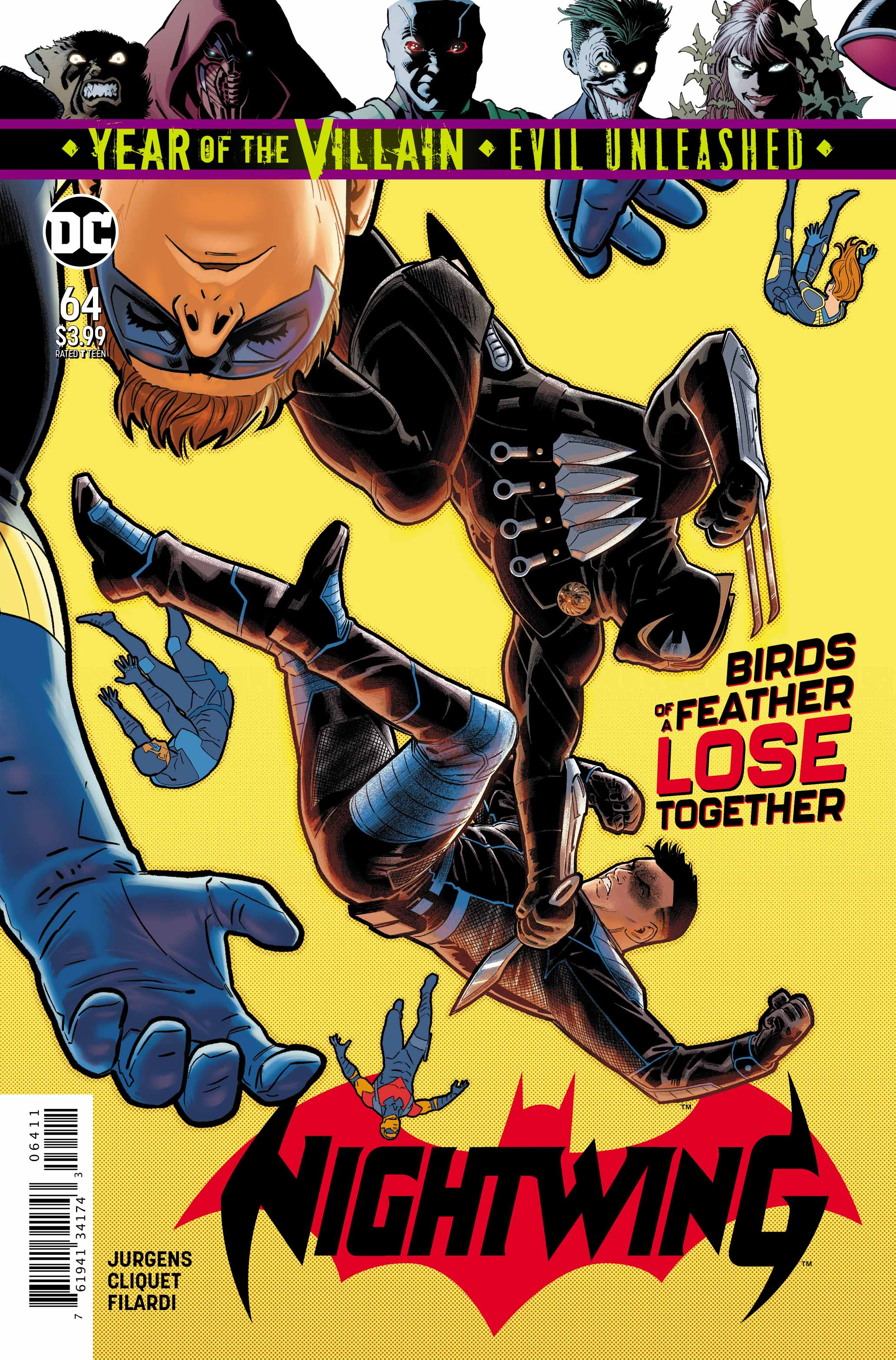 Nightwing #64 YOTV Cover With Lettering