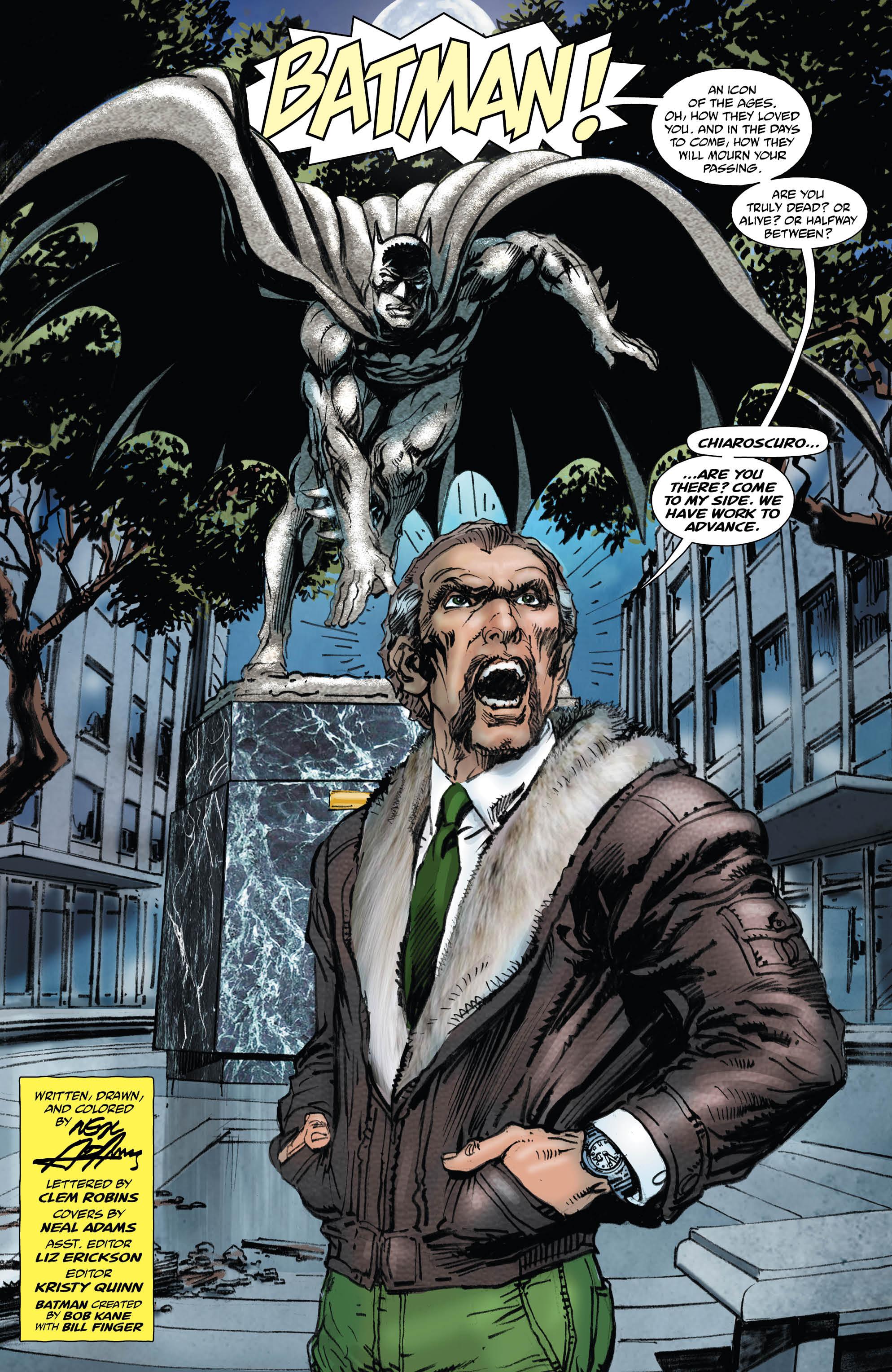 Batman vs. Ra's al Ghul 1