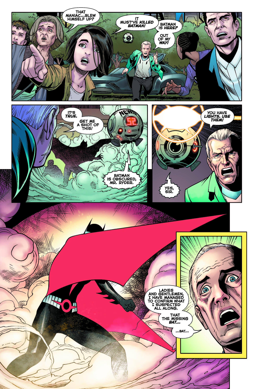 Batman Beyond #37 Who WAS that masked woman?