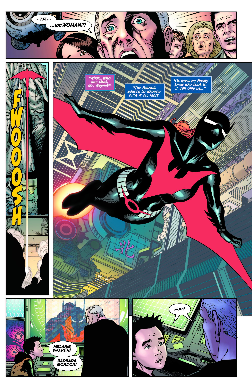 Batman Beyond #37 Flying High