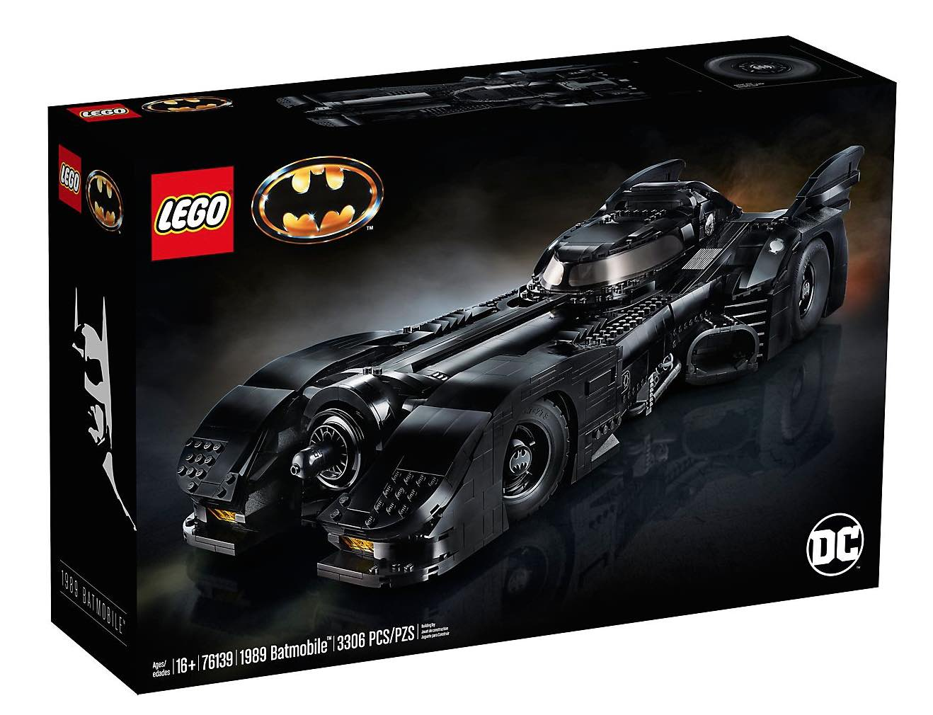 1989 Batmobile box