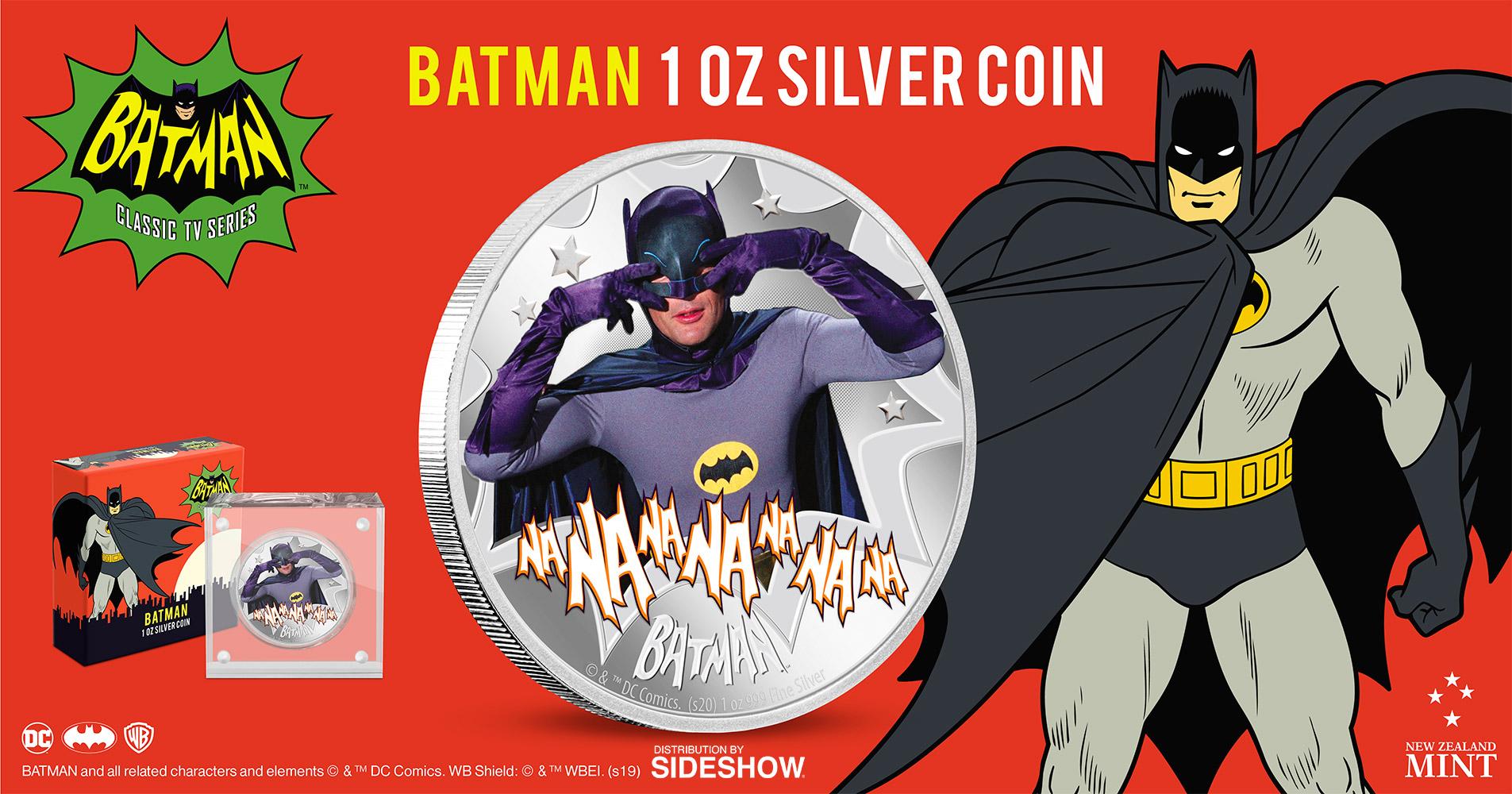 Sideshow Batman Silver Coin