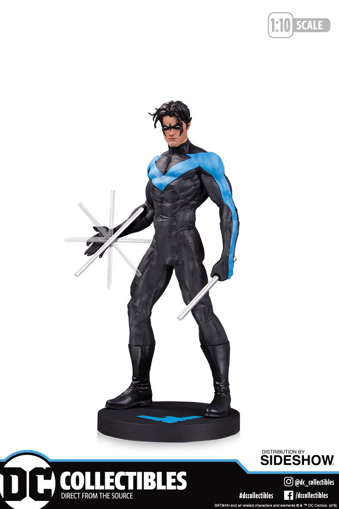 'Hush' Nightwing, one of two mini-statues available for pre-order