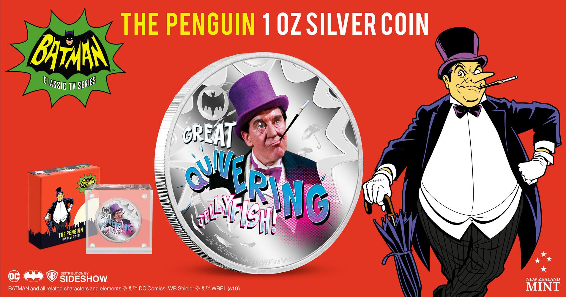 Sideshow Penguin Silver Coin