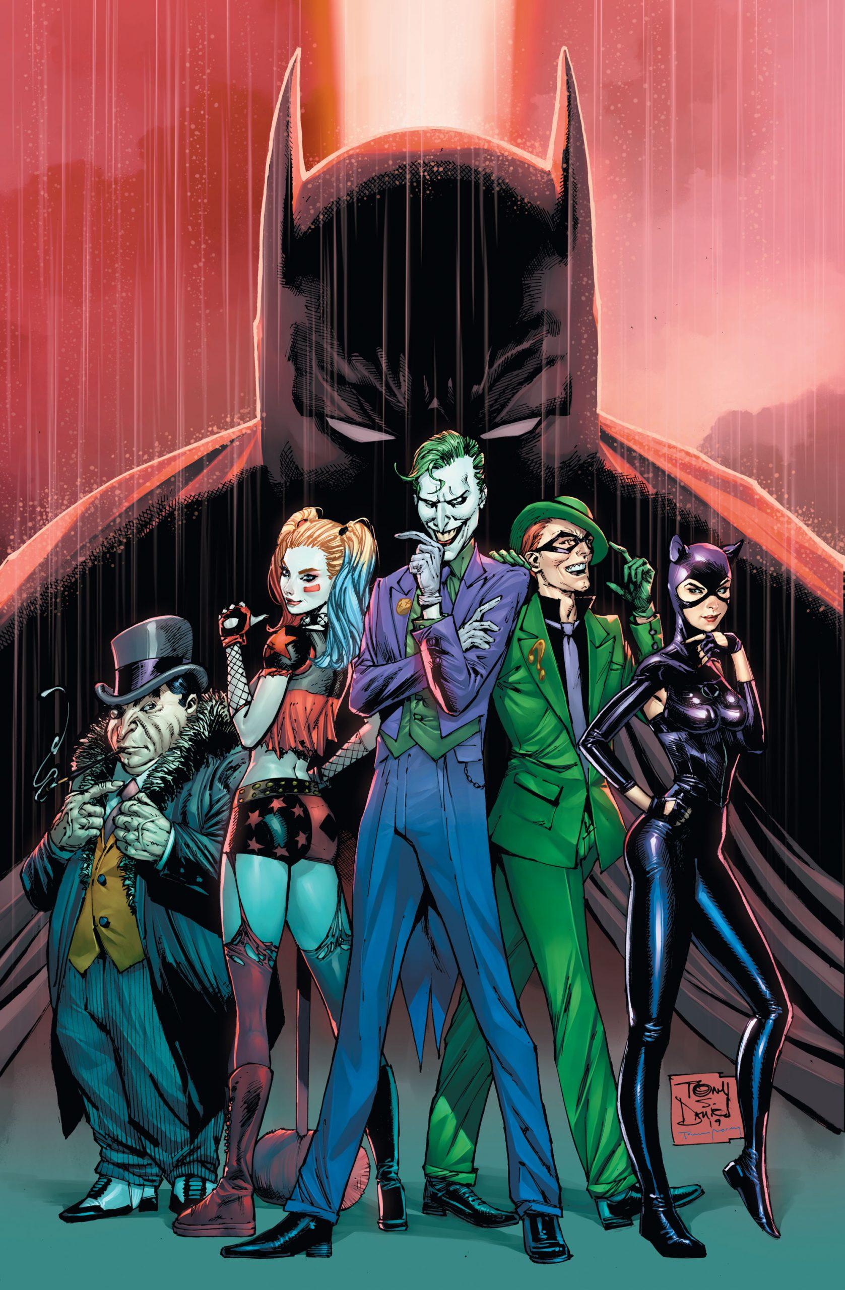 Batman #89 Cover by Tony S. Daniel