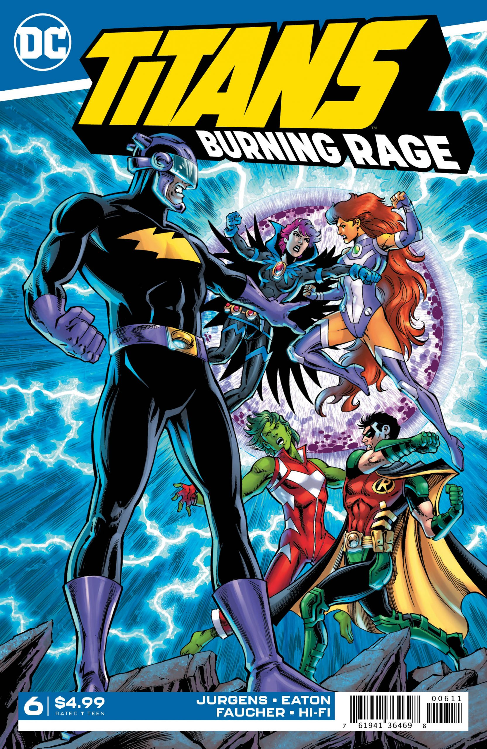 Titans - Burning Rage #6