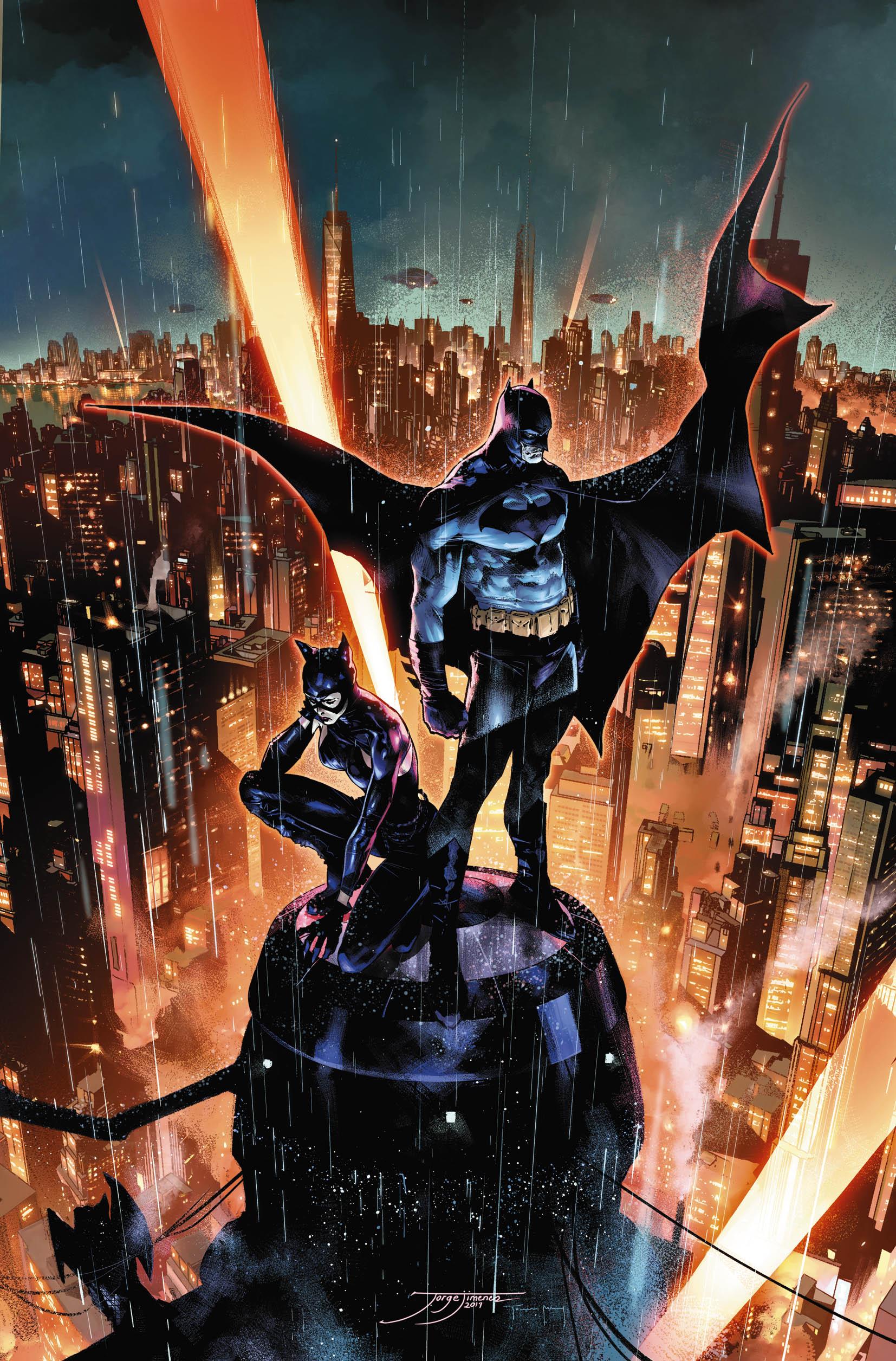Batman #90 by Jorge Jimenez and Tomeu Morey