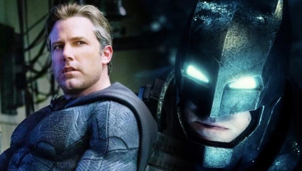 Ben Affleck as Bruce Wayne and the Dark Knight