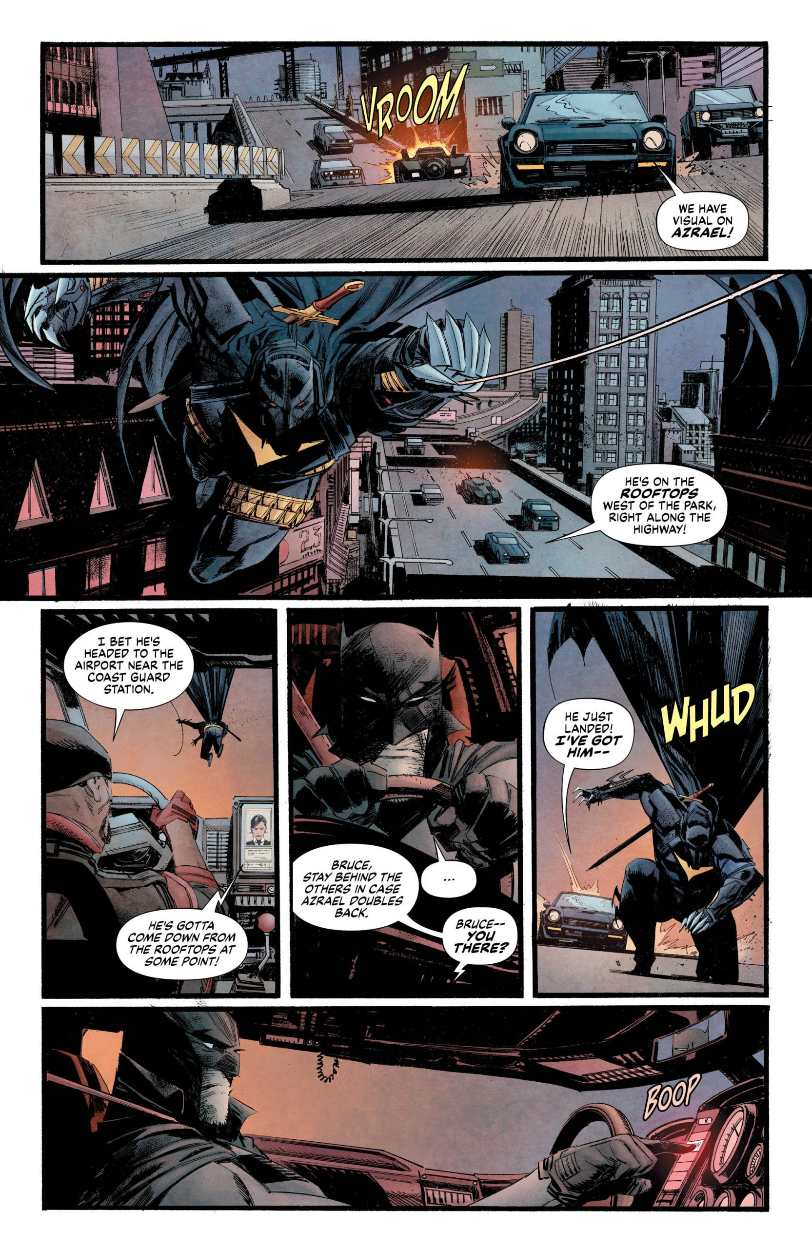 Curse of The White Knight #8 Page One