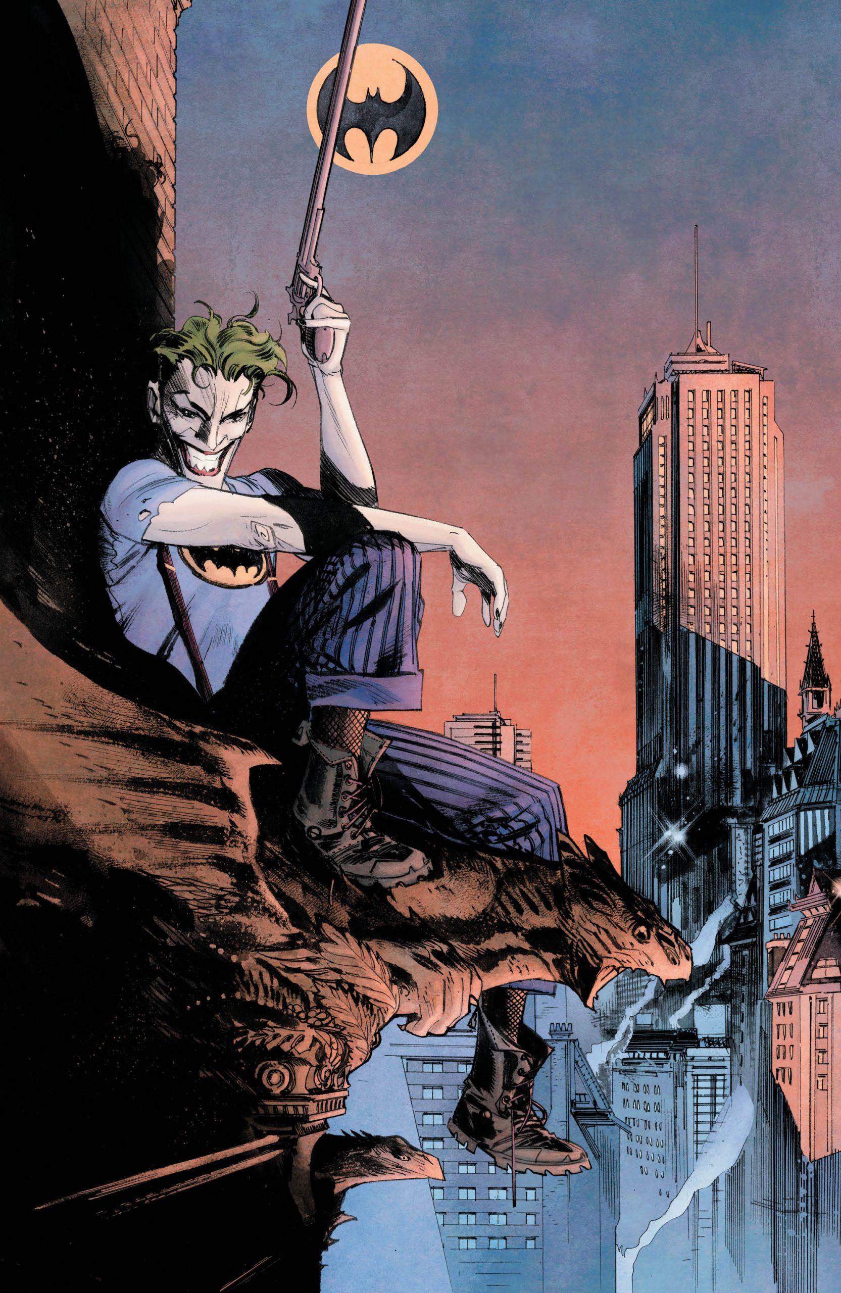 Batman: Curse of The White Knight #8 Alternate Cover Clean