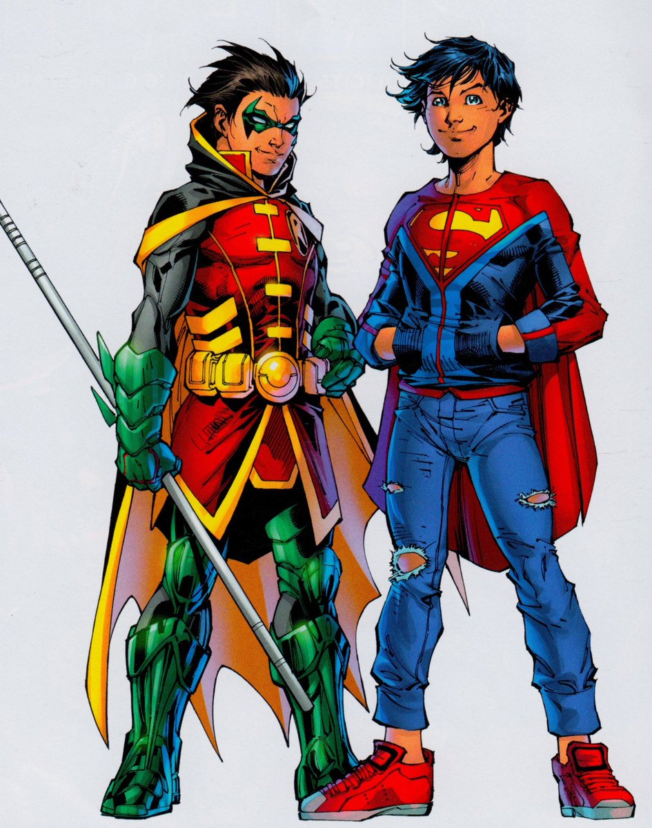 Robin 80th Anniversary - The Super Sons