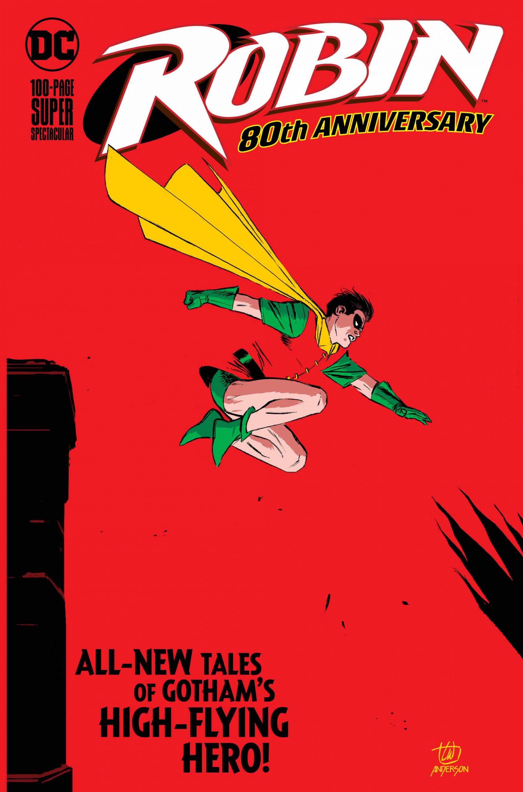 Robin 80th Anniversary by Lee Weeks