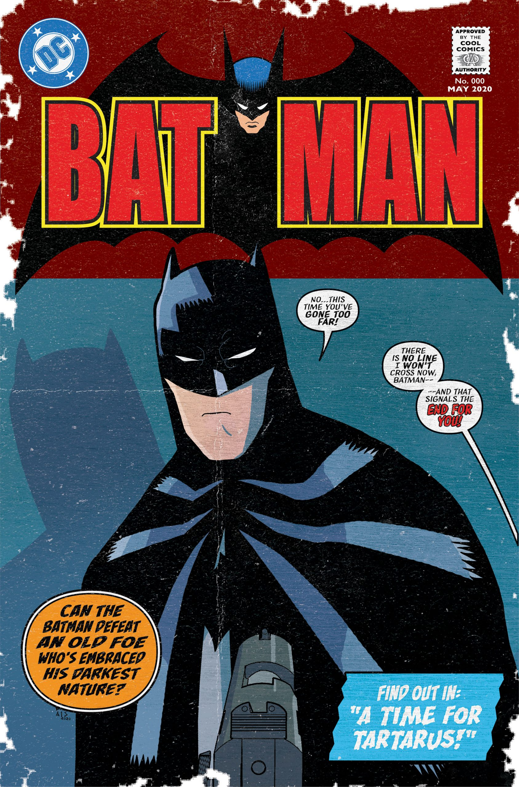 13th Dimension Batman Cover
