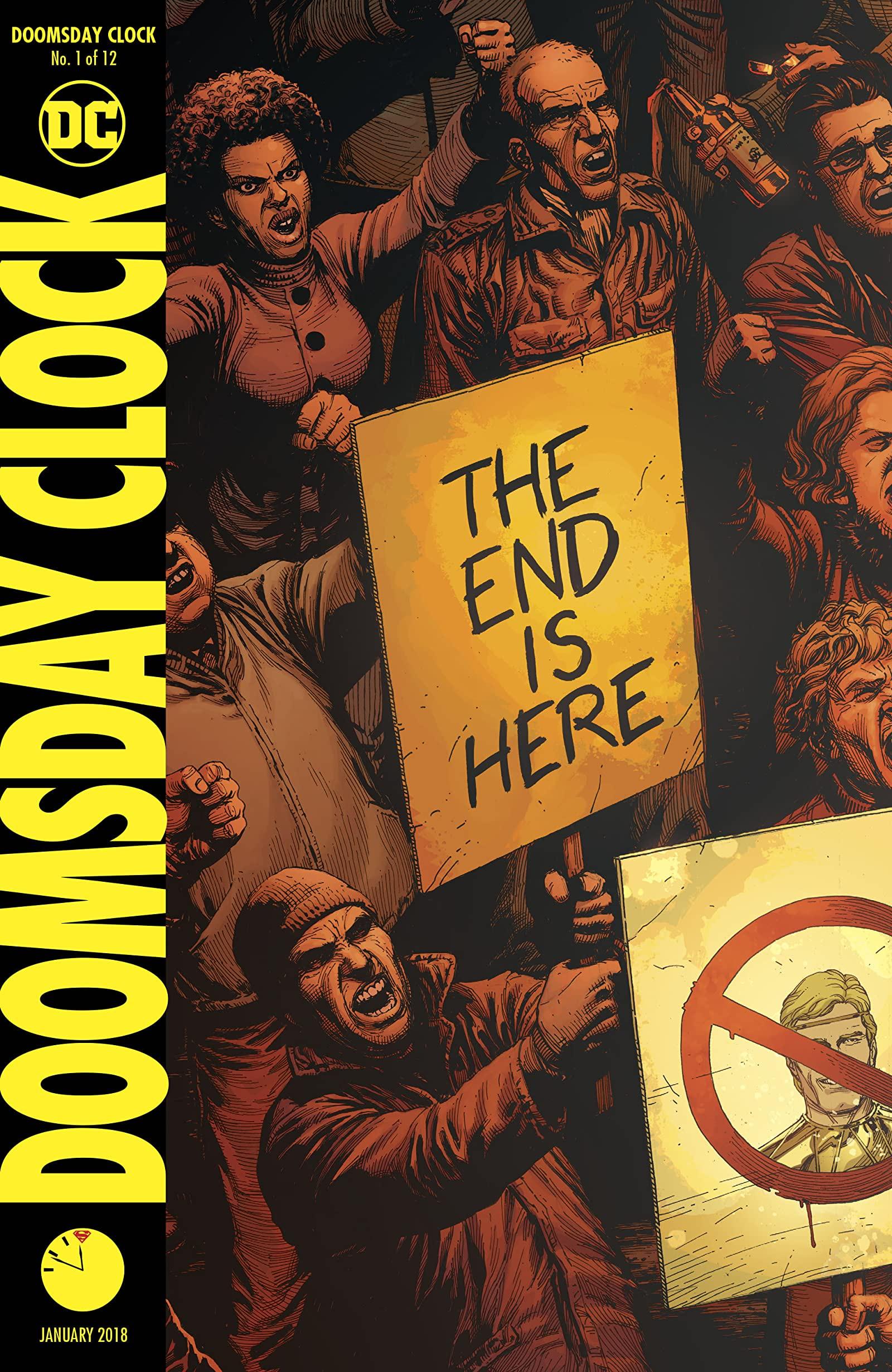 DC Essential Reads Doomsday Clock #1
