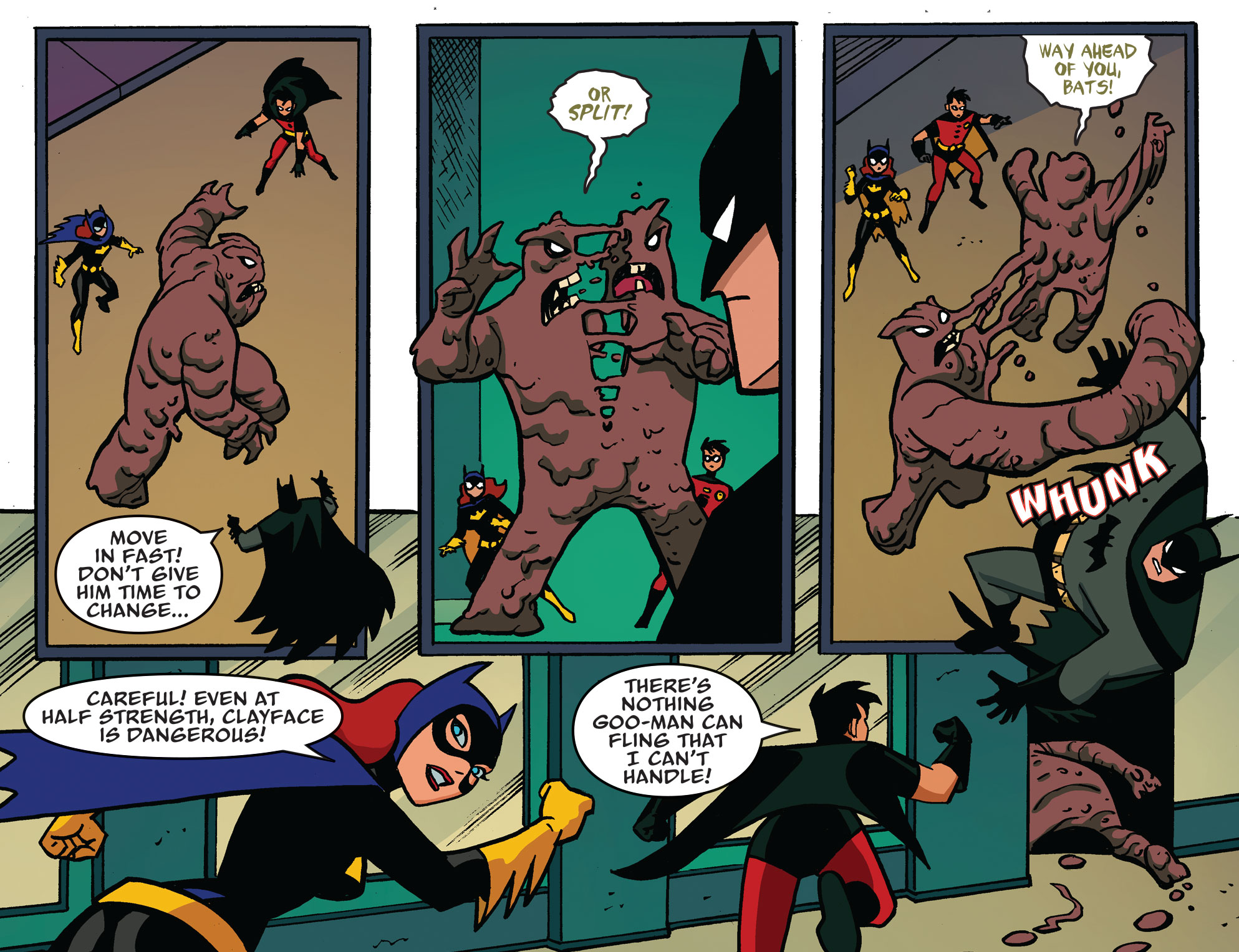 Batman: The Adventures Continue chapter three - Page One