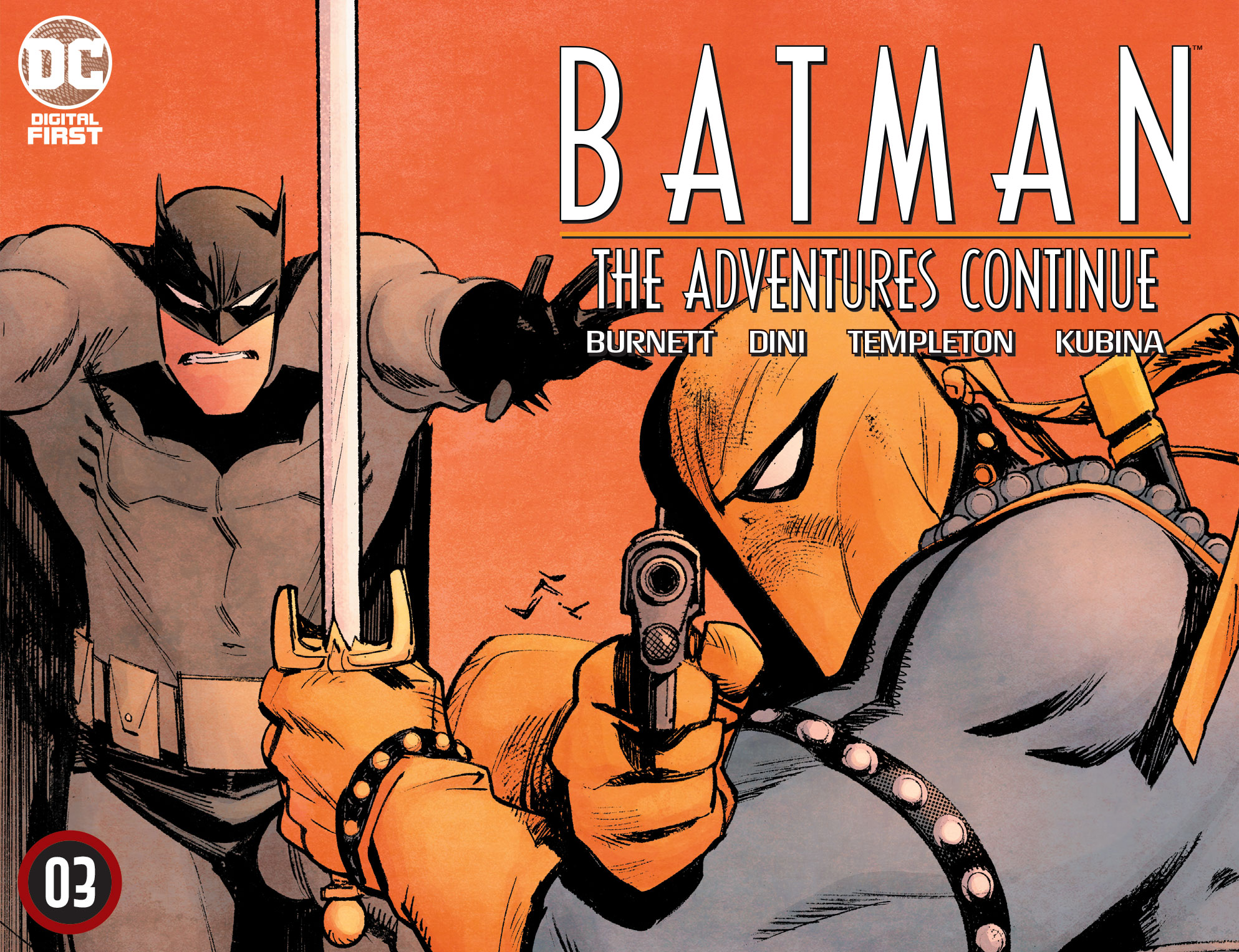 Batman: The Adventures Continue chapter three - cover by Sean Murphy