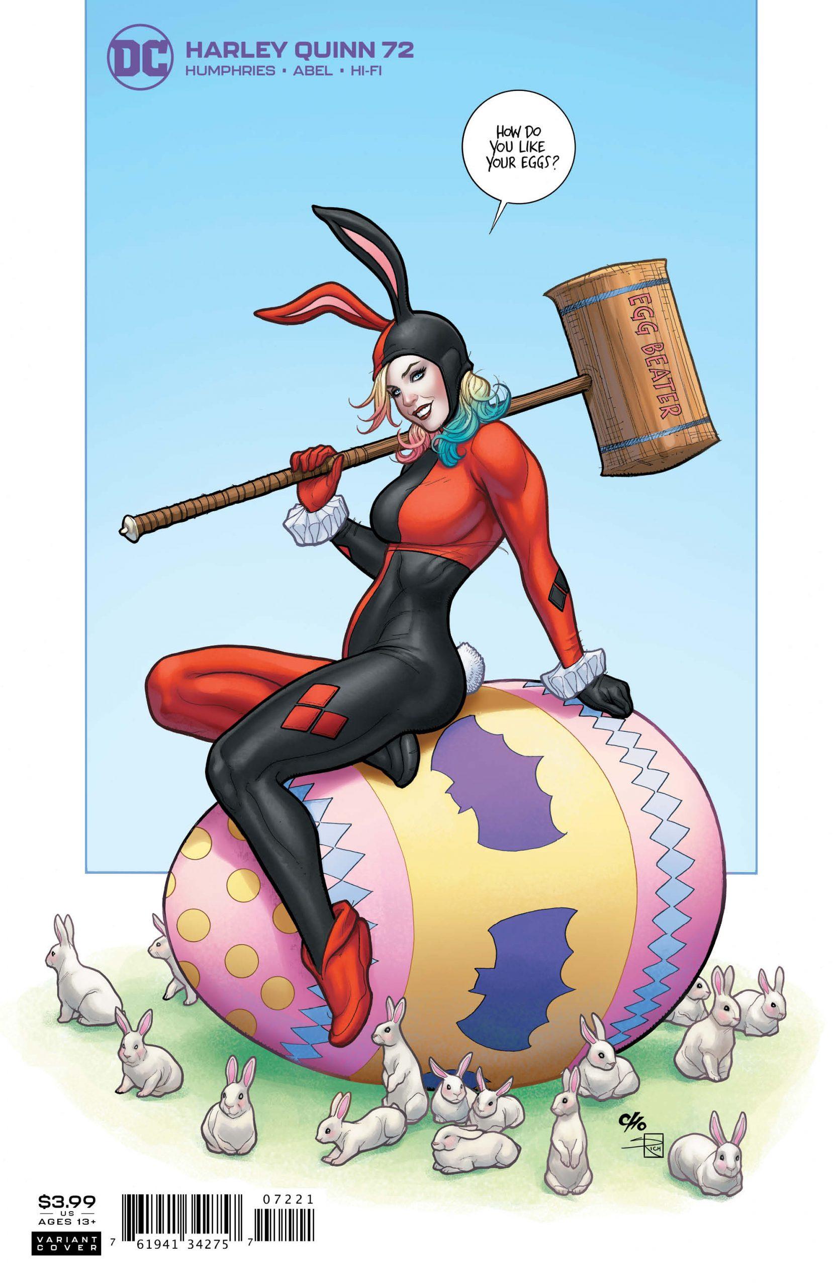 Harley Quinn #72 Variant Cover