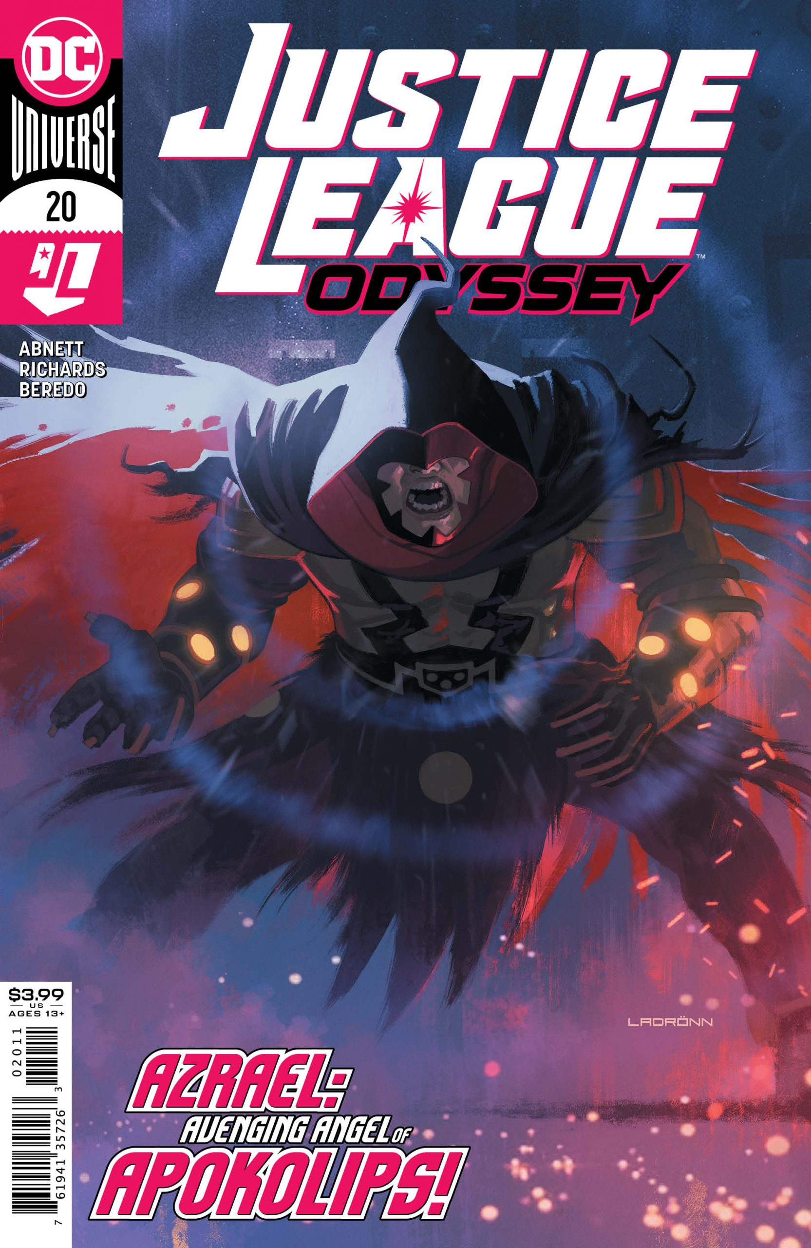 Justice League Odyssey #20 Cover