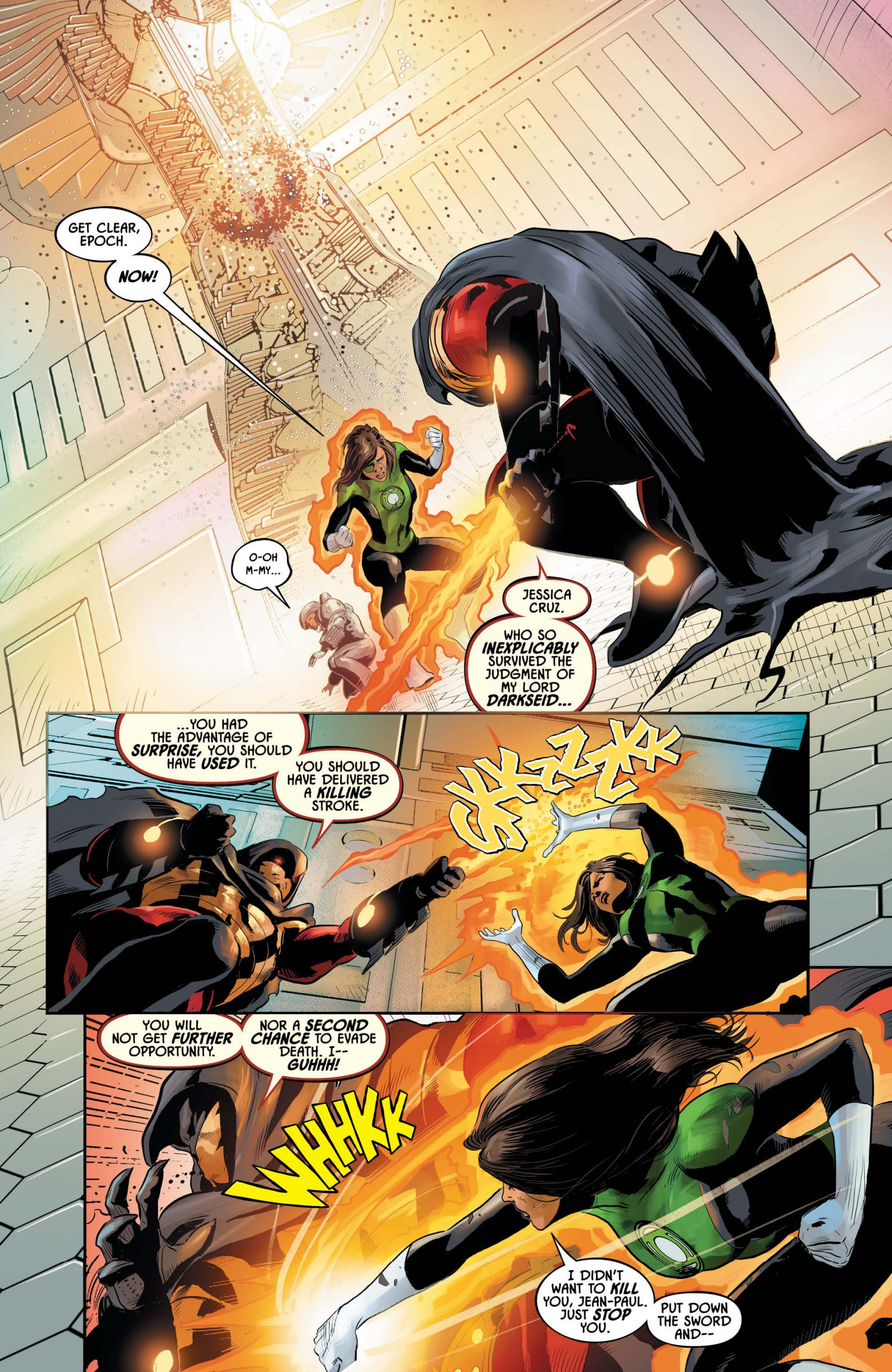 Justice League Odyssey #20 Page3