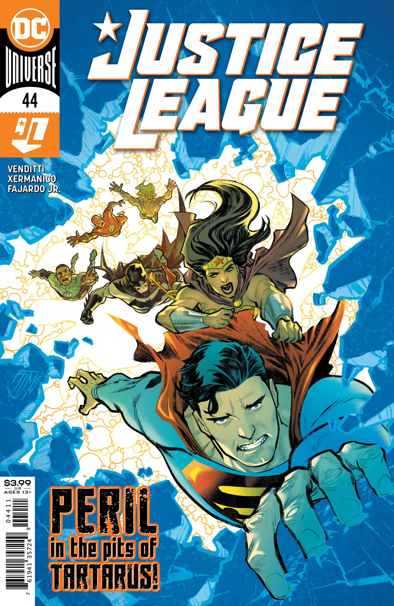 Justice League #44 Cover