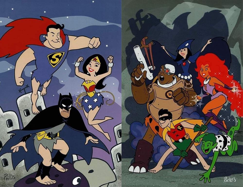 Joe Phillips DC Trinity and Teen Titans