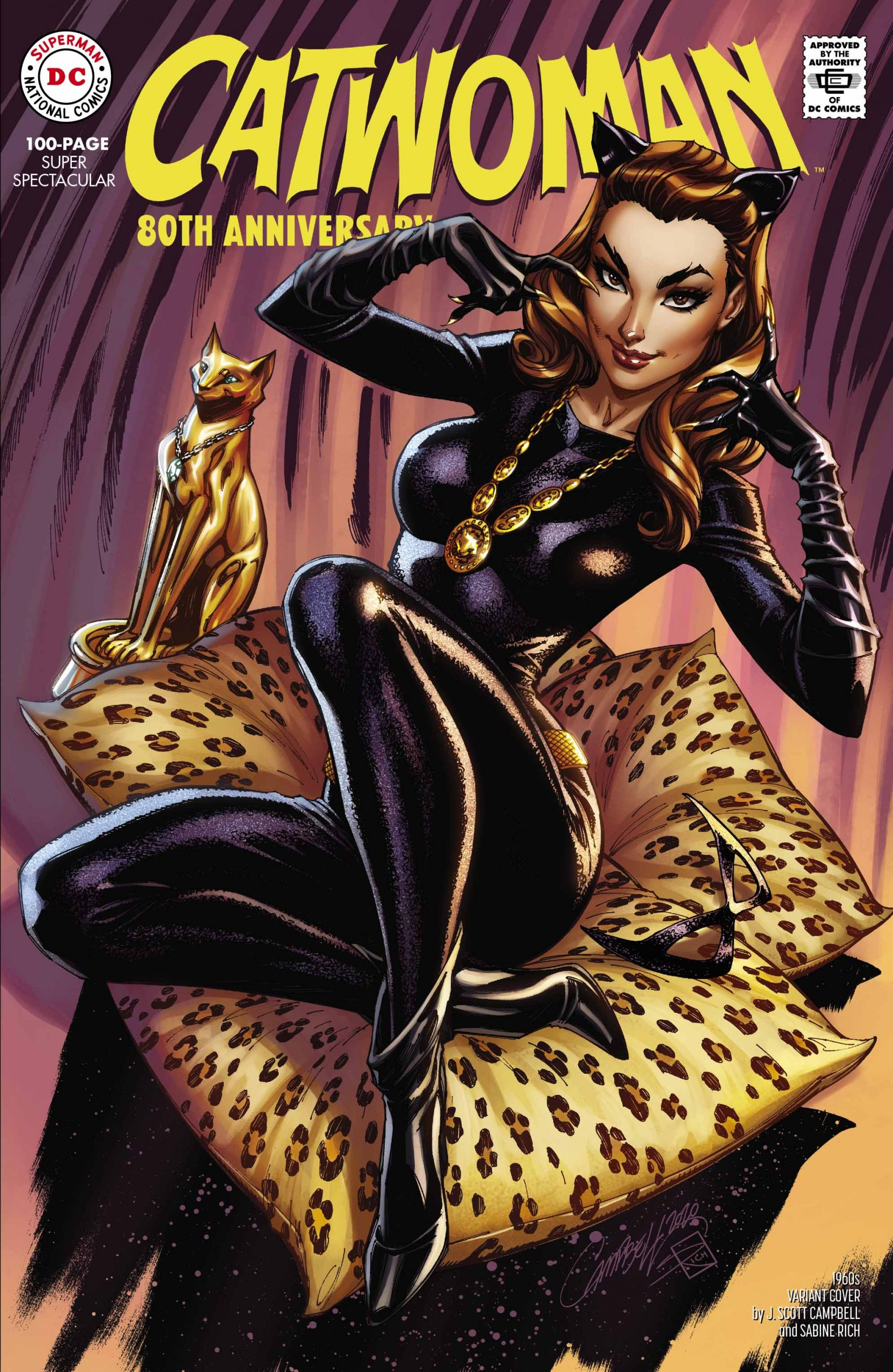 Catwoman 80th Anniversary The 60s
