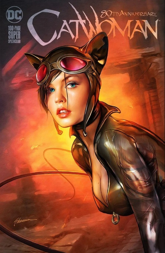 Catwoman 80th Anniversary 100-Page Super Spectacular Variant Cover