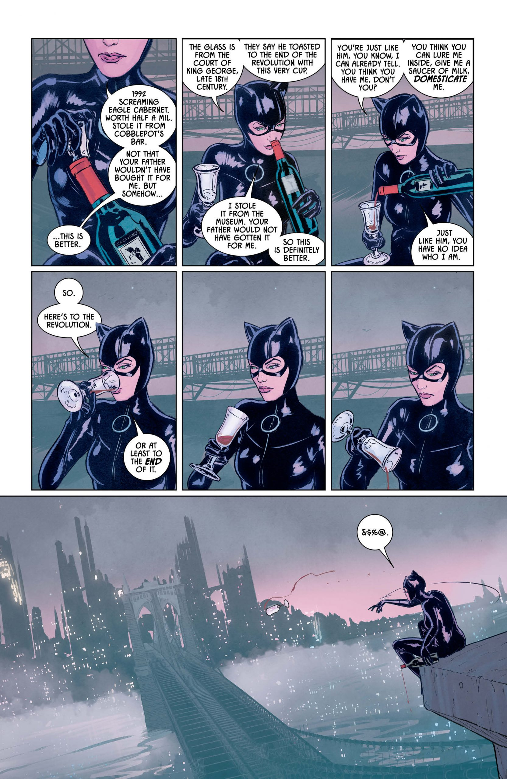 Catwoman 80th Anniversary 100-Page Super Spectacular Helena Pg. 3