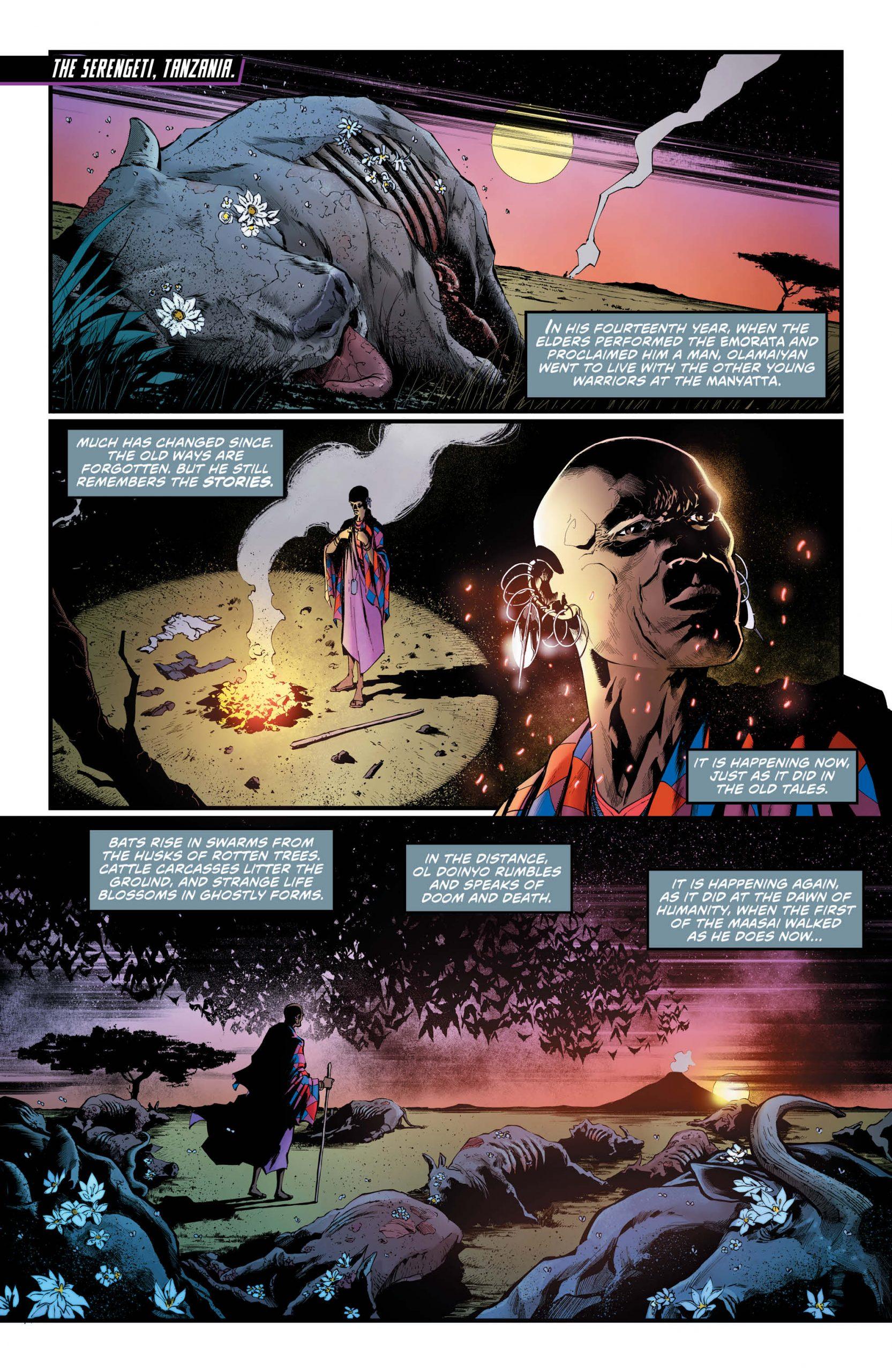 Justice League Dark #22 Pg. 1