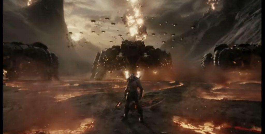 Uxas/Darkseid in Zack Snyder's Justice League