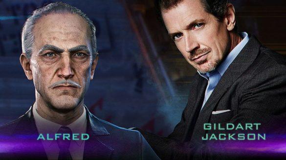 Gildart Jackson as Alfred in Gotham Knights