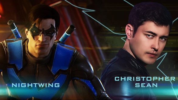 Christopher Sean as Nightwing in Gotham Knights