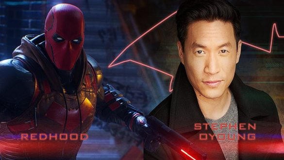 Stephen Oyoung as Red Hood in Gotham Knights