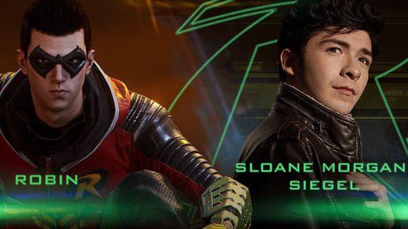 Sloane Morgan Siegel as Robin in Gotham Knights