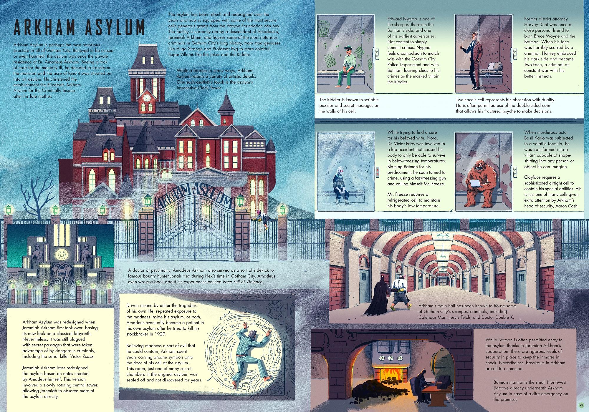 Exploring Gotham City - Arkham Asylum