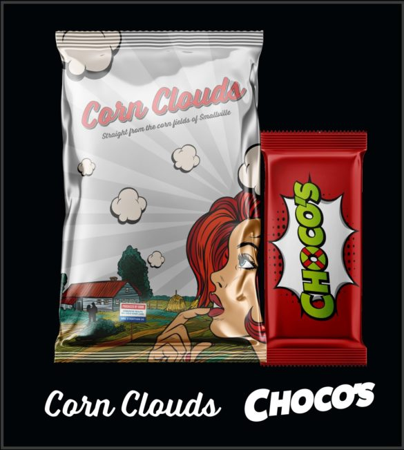 Corn Clouds and Chocos