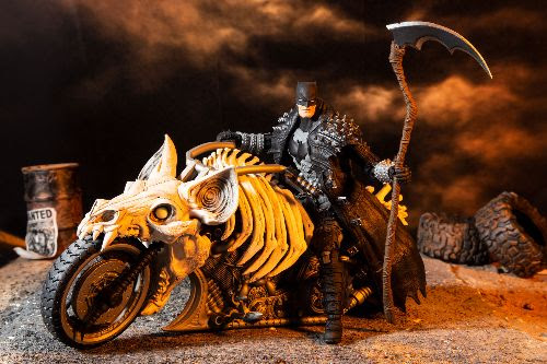 McFarlane Toys - Death Metal Batcycle
