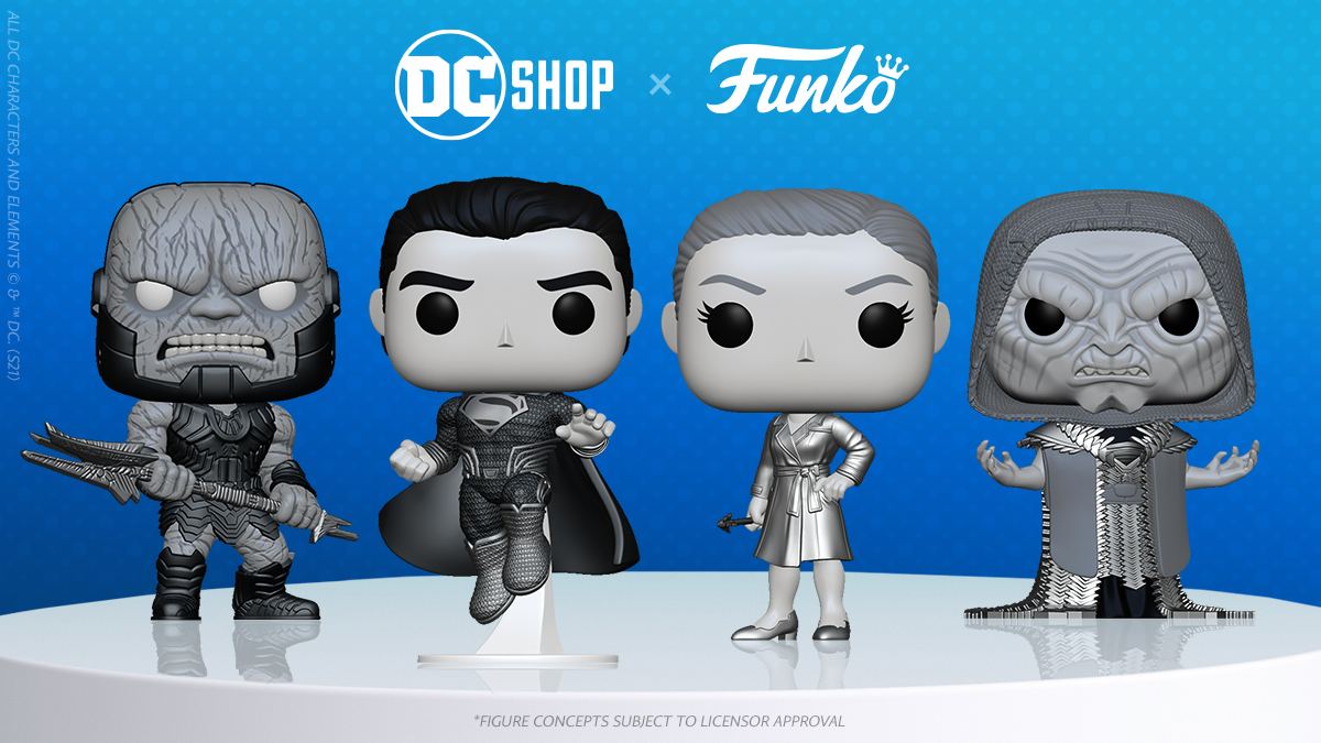 4-Pack Collection For 'Zack Snyder's Justice League'