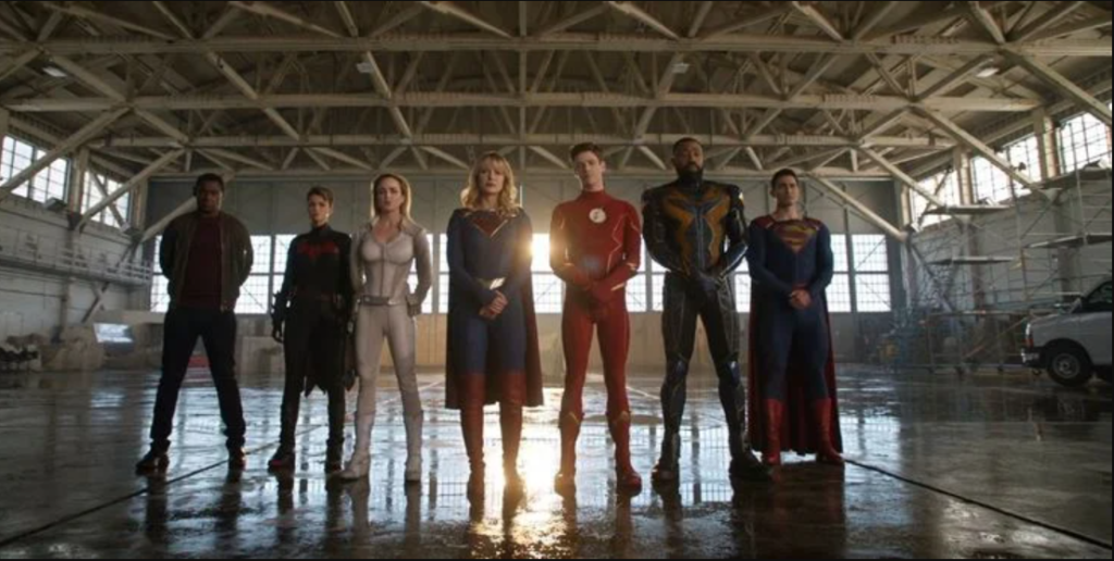 Arrowverse's Earth-Prime Justice League from 'Crisis on Infinite Earths' WITH Ruby Rose as Batwoman